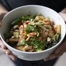 Kickin' It Tofu Salad