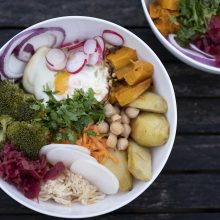 FeedBox Goodness Bowl (or is that a Buddha Bowl?)