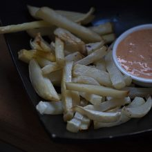 A Slow Long Weekend – with Turnip Fries and Kimchi Mayo