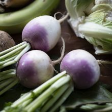 What's in the organic veg box this season?