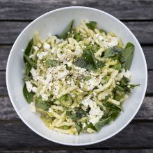 Eat Local with our Zippy Zucchini Pasta