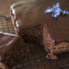 Local produce delivery in summer means zucchini AND chocolate cake