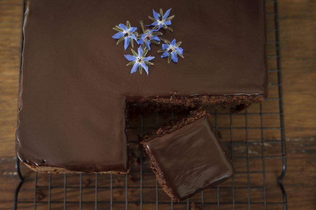 zucchini and chocolate cake